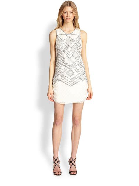 white beaded dress white beaded dress dress grand
