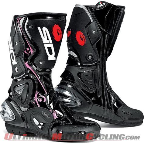 sidi motorcycle boots sidi vertigo lei women s motorcycle boots