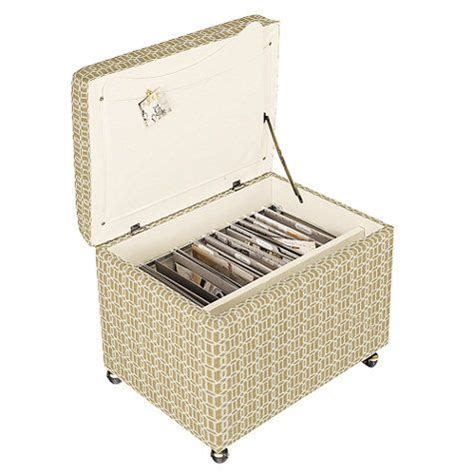 File Storage Ottoman Roll On Metals And Metal Frames On