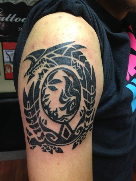 monster hunter tattoo tribal www pixshark images
