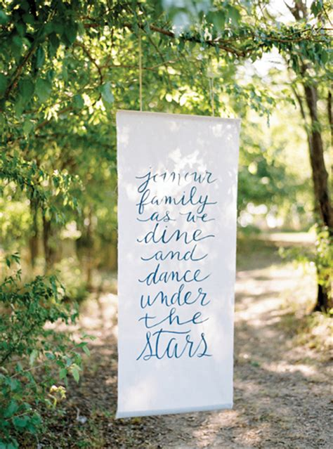 Outdoor Wedding Banner by Fabric Banner Uses Signage 101 Signs