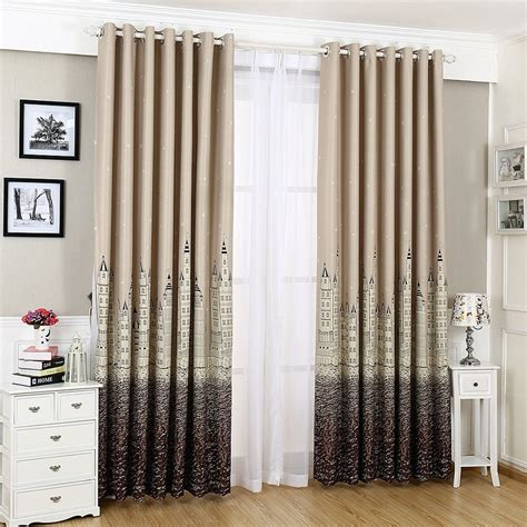 modern nursery curtains korean modern printed curtains for nursery room customized