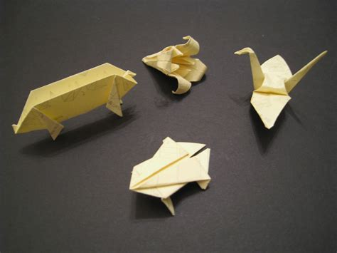 Banknote Origami - post it stick it lets get it