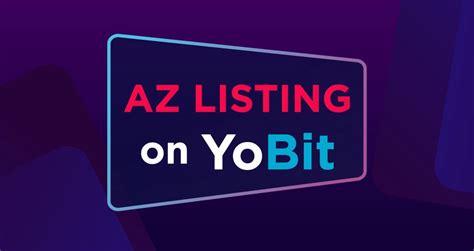 az token  listed  yobit azbit news medium