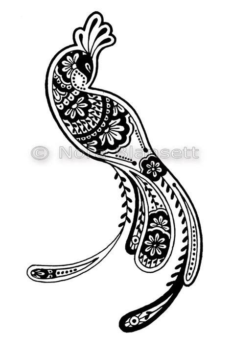 peacock drawing black and white cliparts co