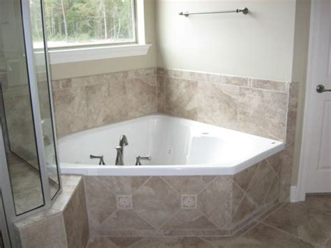 Garden Tub Enclosure 17 Best Images About Bathroom Ideas On Pebble