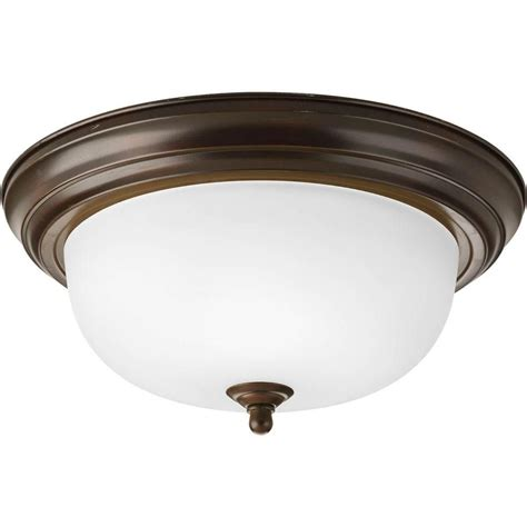 antique flush mount light progress lighting 2 light antique bronze flushmount the