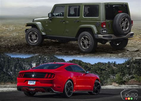 2016 ford mustang convertible vs jeep wrangler unlimited