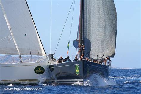 boat crash hyannis maxi yacht rolex cup at porto cervo sardinia day 4