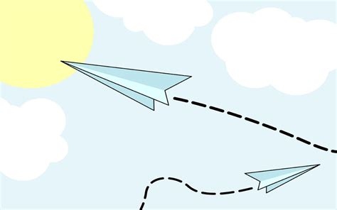 air background paper template animated airplane pictures cliparts co