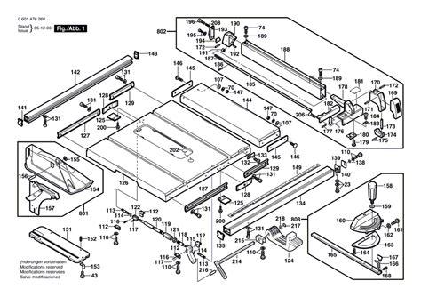 Bosch 4000 Table Saw Wiring Diagram 35 Wiring Diagram
