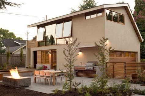 Accessory Dwelling Unit by Brilliant Garage Apartment Maximizes Space With Custom