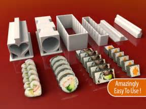 Kitchen Collections by Sushi Maker Set By Meh4d Thingiverse
