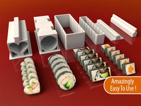 Set Mekar sushi maker set by meh4d thingiverse