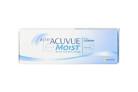 acuvue 1 day moist   daily contact lenses