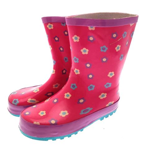 children s muck boots rubber snow boots wellies wellingtons