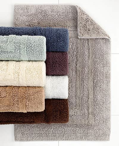 tommy hilfiger bathroom rugs hotel collection cotton reversible bath rugs 100 cotton