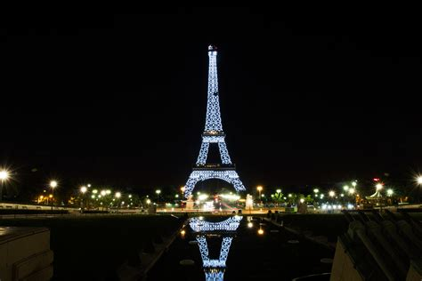 Eiffel Tower Light Show by 4letterworld 187 Eiffel Tower