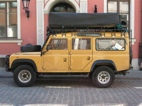 old land rover defender land rover defender 130 station wagon the rumpus is starting