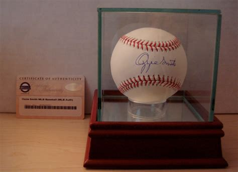 Baseball Fujifilm the chronicles of fuji pc addition ozzie smith autographed baseball