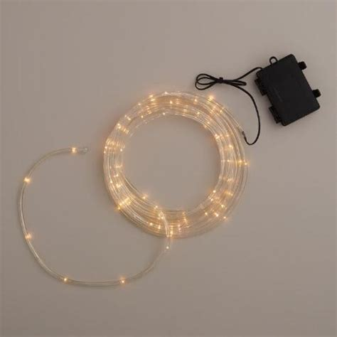 small battery lights mini led battery operated rope lights world market