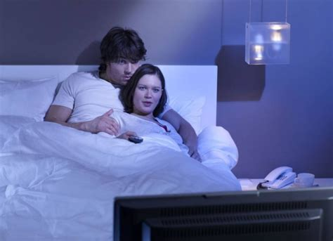tv in bedroom marriage new survey reveals that couples who have a tv in bedroom
