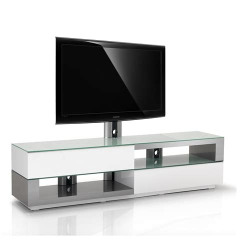 meubles tv meuble tv design blanc inox bross 233 200cm razza 200h swi exclusive