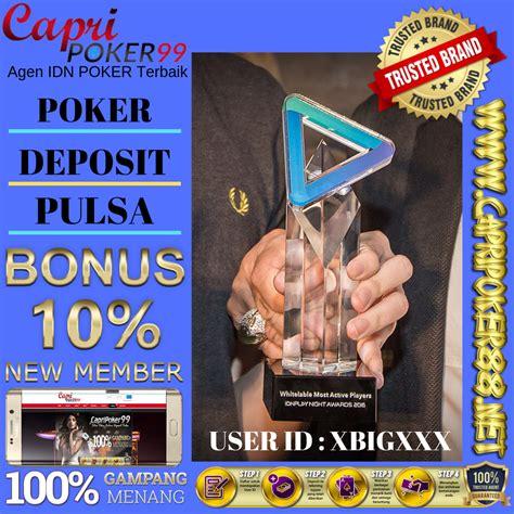 poker deposit pulsa  poker