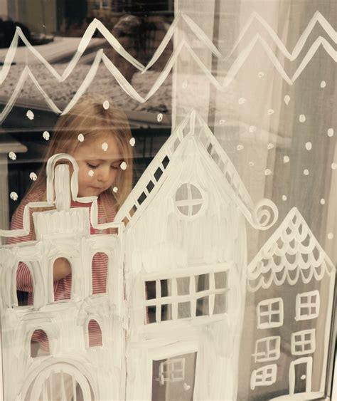 Zahnpasta Plastik Polieren by Advent Fenster Bemalen Mit Nat 252 Rlicher Farbe Besser