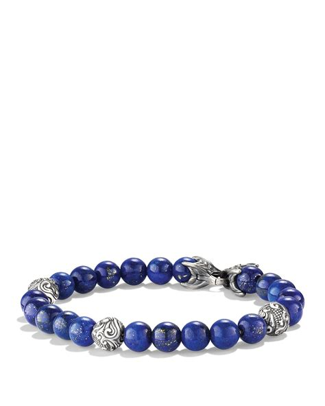 david yurman spiritual bead bracelet david yurman spiritual bracelet with lapis lazuli in