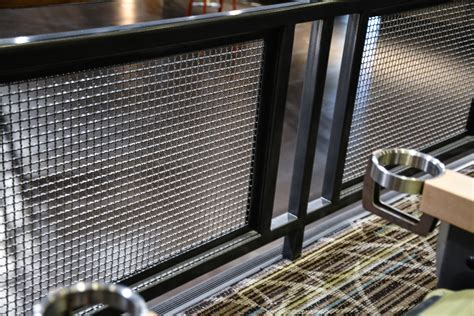 Mesh Banister Guard Banker Wire Mesh Brings Tropical Aesthetic To Manitoba S