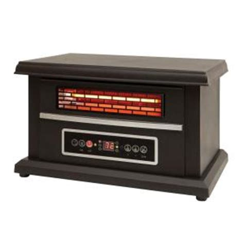 heat wave 1400 watt infrared tabletop heater ea1240 the