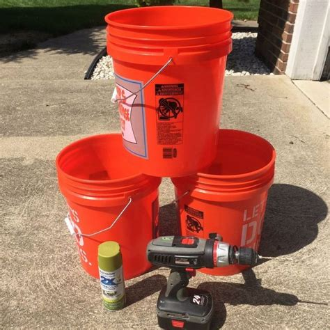 5 Gallon Planter by Tomato Planters From 5 Gallon Buckets Hometalk