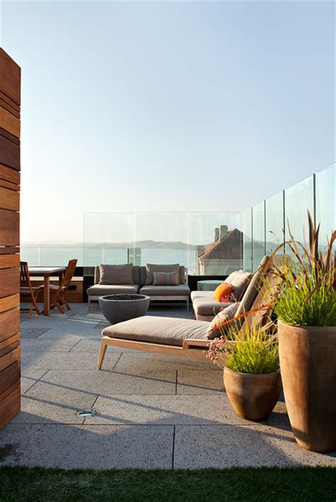 Best Patios In San Francisco by Pac Heights Penthouse Modern Patio San Francisco