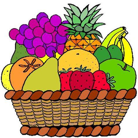 Dessin A Imprimer Corbeille De Fruits
