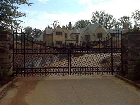 iron ideas iron driveway gates ideas outdoor decorations