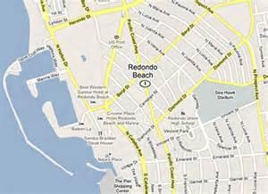 redondo california map dentist redondo ca 90277 90278