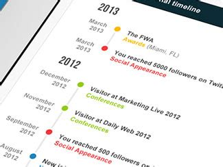 cv template word timeline 26 cv resume designs that recruiters will love web