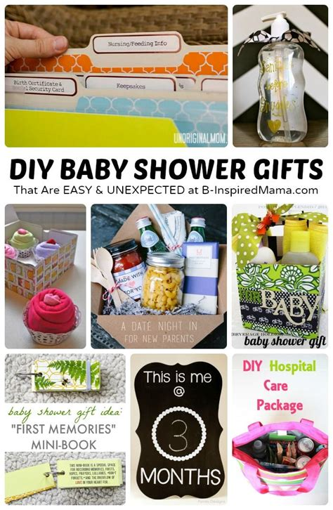 Easy Handmade Baby Gifts - easy and diy baby shower gifts shower gifts