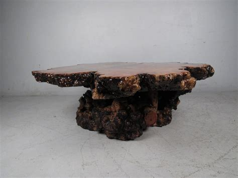 Burl Coffee Table For Sale Burl Wood Free Edge Coffee Table For Sale At 1stdibs