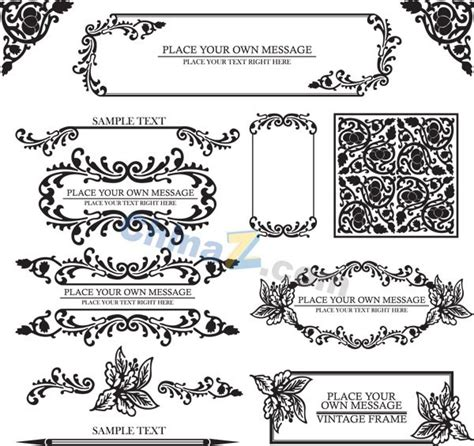 pattern frame app classical frame of the pattern vector over millions