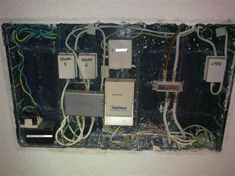 cableado fibra optica en casa instalacion fibra en casa rosetas tv comunidad movistar