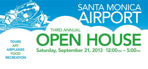 design banner congress santa monica airport open house smo santa monica