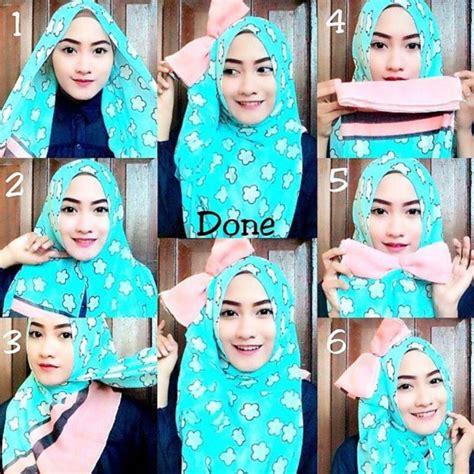 tutorial hijab pesta simple segi empat modern tutorial hijab pesta simple segi empat modern terbaru 2016
