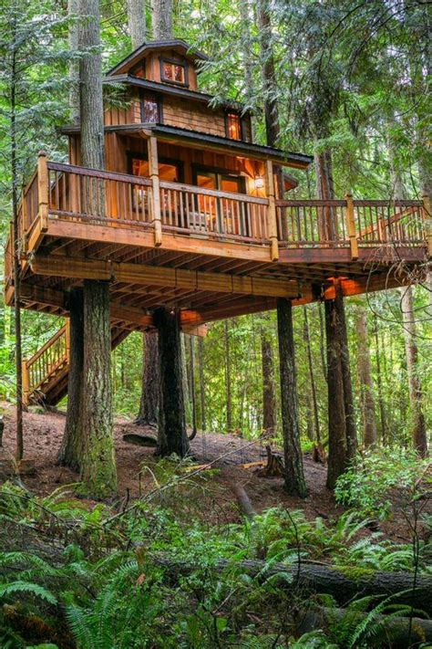 This gorgeous tree house is our dream bunkie   Cottage Life
