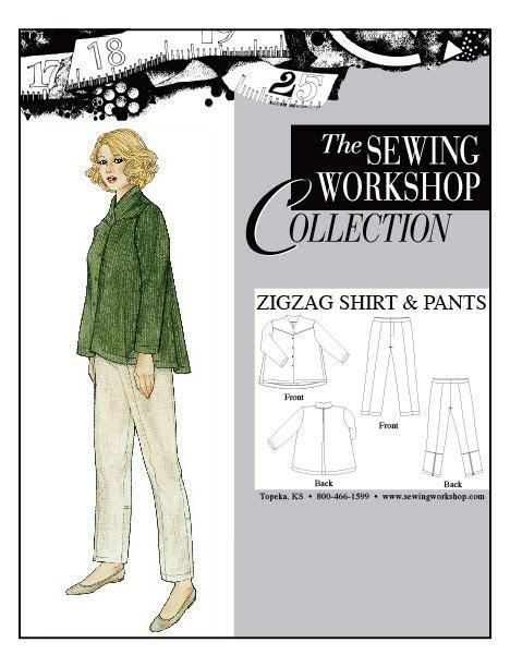 Pattern Workshop Review | sewing workshop zigzag shirt pants