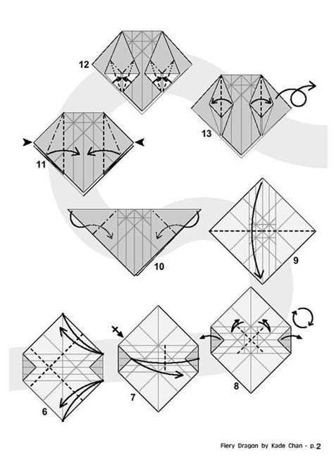 how to make an origami fiery fiery diagram 2 of 8 paper origami paper