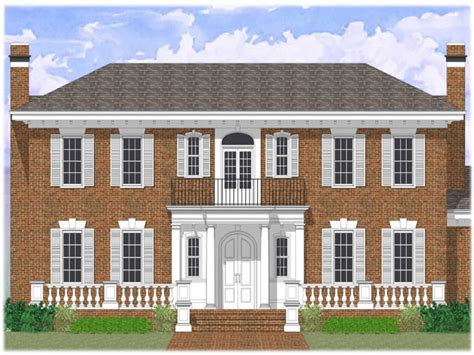colonial revival colonial revival house plans brick colonial revival house