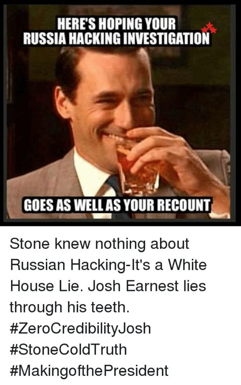 White Russian Meme - heres hoping your russia hackinginvestigation goes as well
