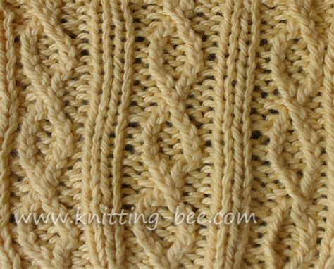 what is ribbing in knitting figure 8 rib knit stitch pattern knitting bee